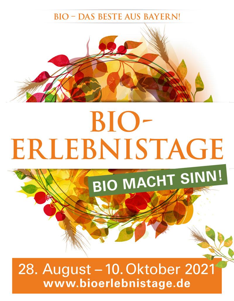 Bio-Erlebnistage- Bio aus Bayern hautnah erleben